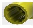 cone protection standard de hanche 3D